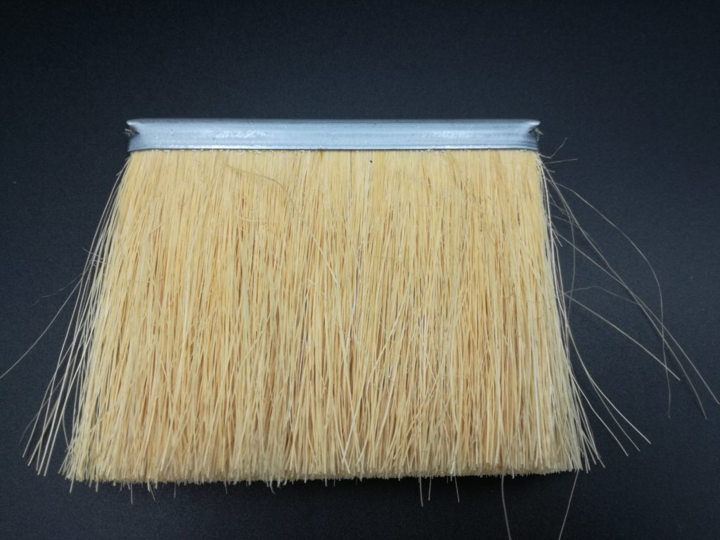cepillo strip técnico industrial tira burlete con fibra natural tampico resiste altas temperaturas