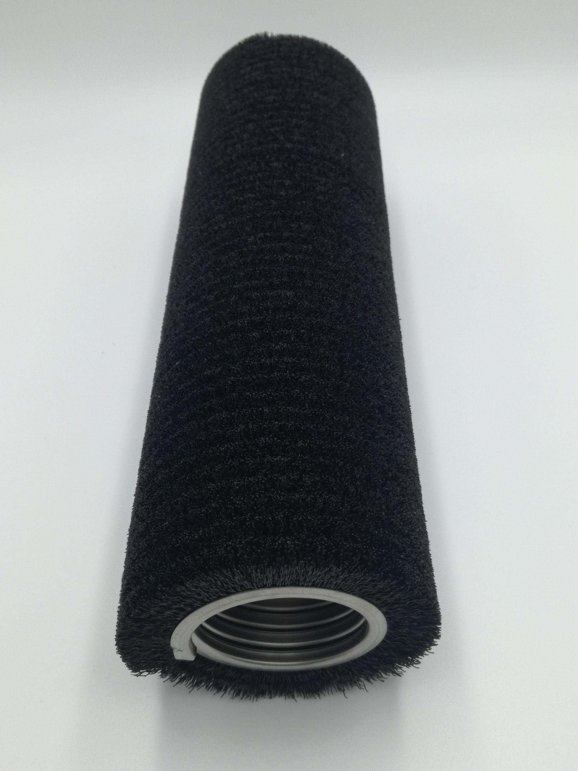 cepillo strip espiral helicoidal metálica fibra sintética