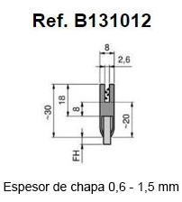 Con Burbuja Para Máxima Estanqueidad: Cuerpo Caucho Termoplástico Negro Largo Fibras (FH): 2 – 7mm Poliamida Negra Lisa 0.15 O 0.20mm Bobinas De 25 Metros