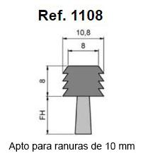 Cepillo Strip Flexible Insertar En Ranuras