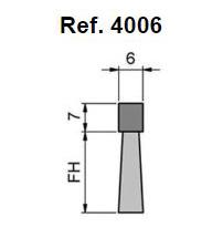 Cepillo Strip Flexible Base Cuadrada Y Rectangular