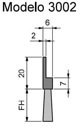 Cepillo Strip Flexible