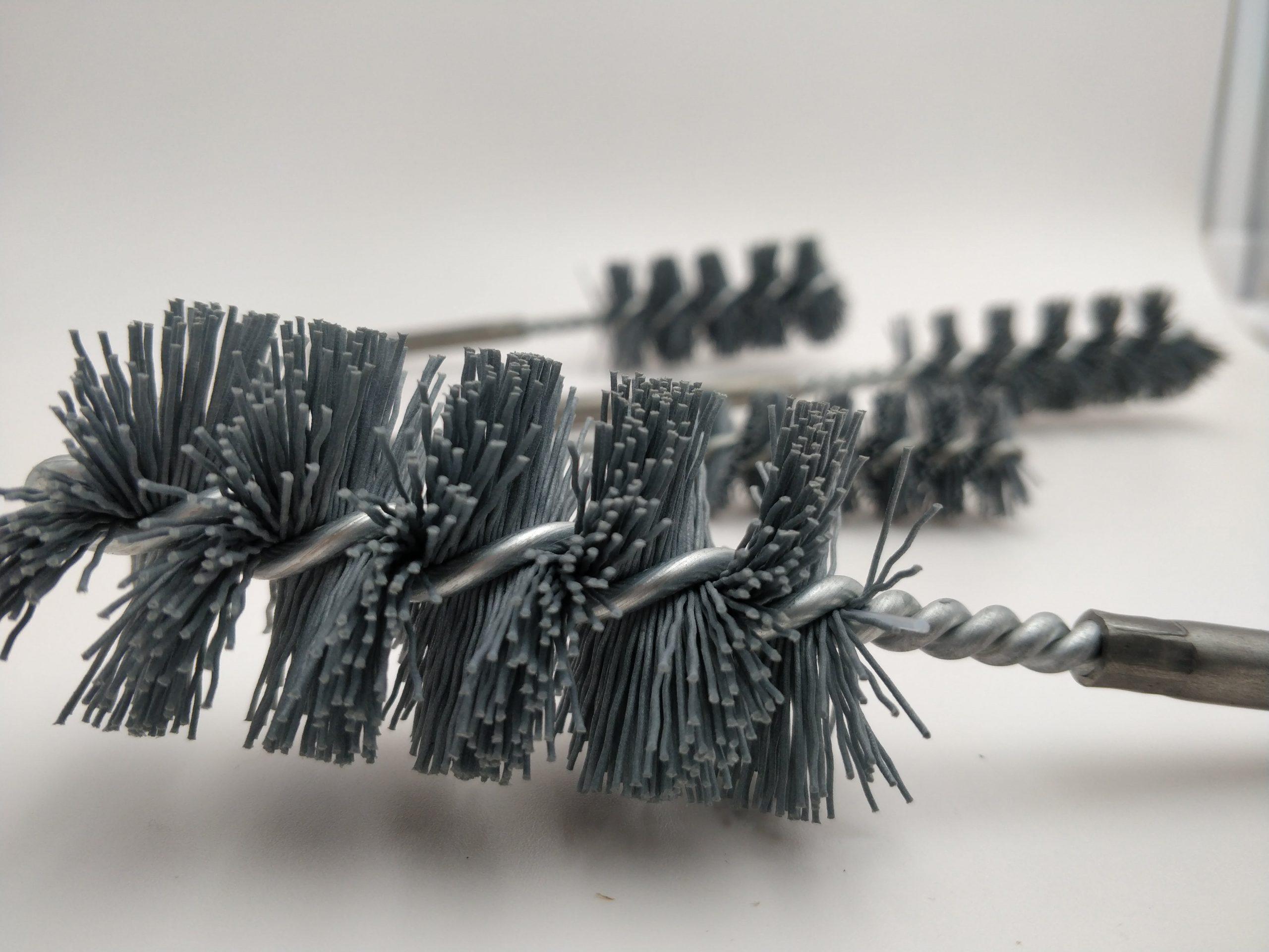 cepillo limpia tubo nylon abrasivo