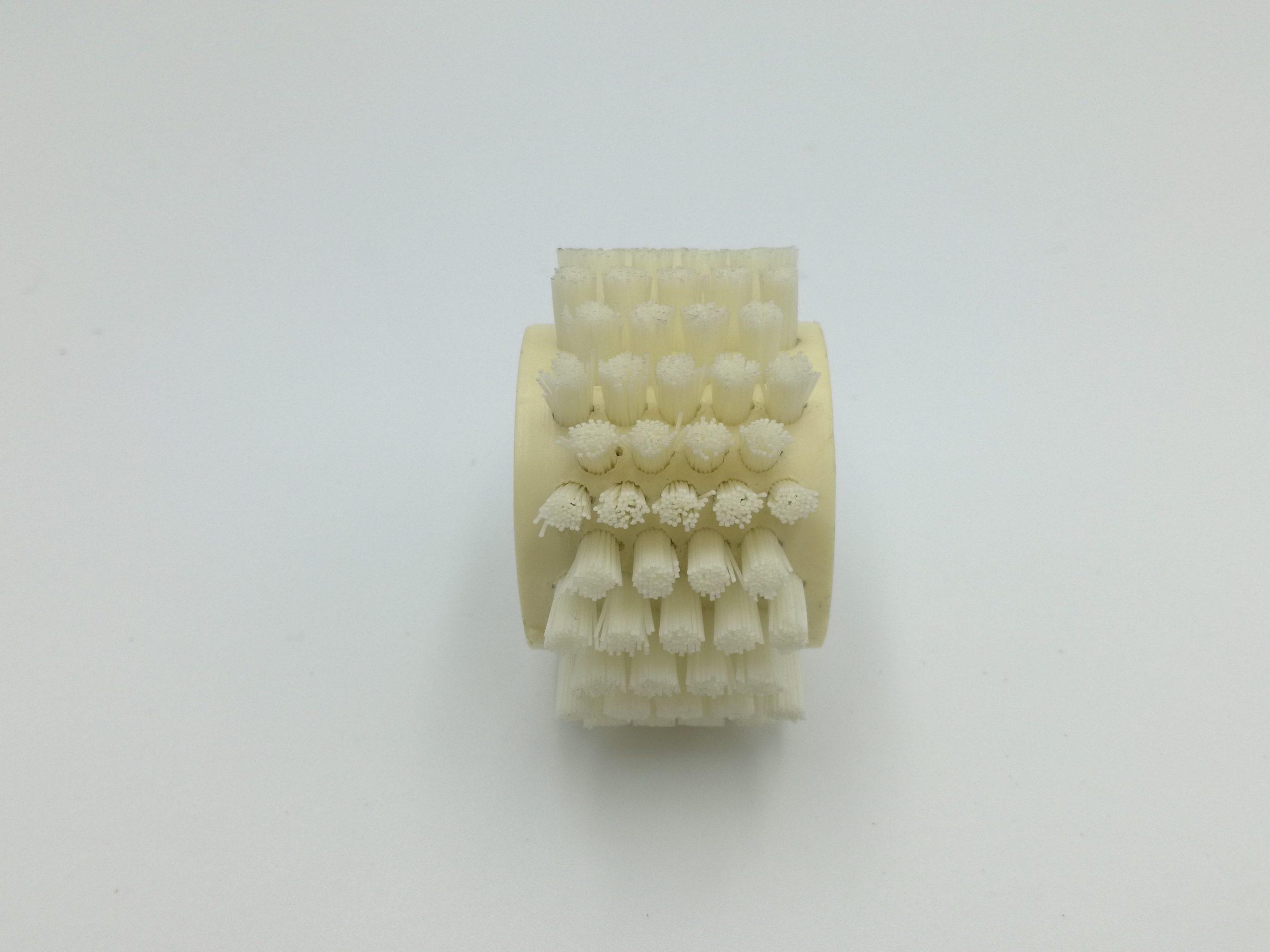 cepillo cilíndrico fibra corta