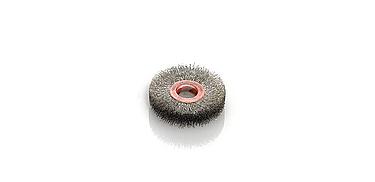 cepillos circular acero desbarbado