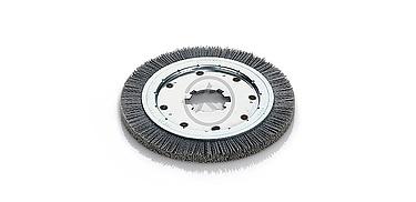 cepillo circular abrasivo carburo de silicio
