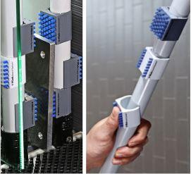 cepillo de protección para tubos evitar ralladuras
