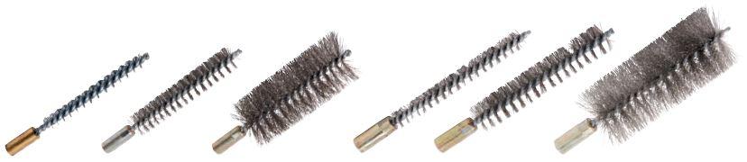 cepillo limpia interior tubo acero con rosca