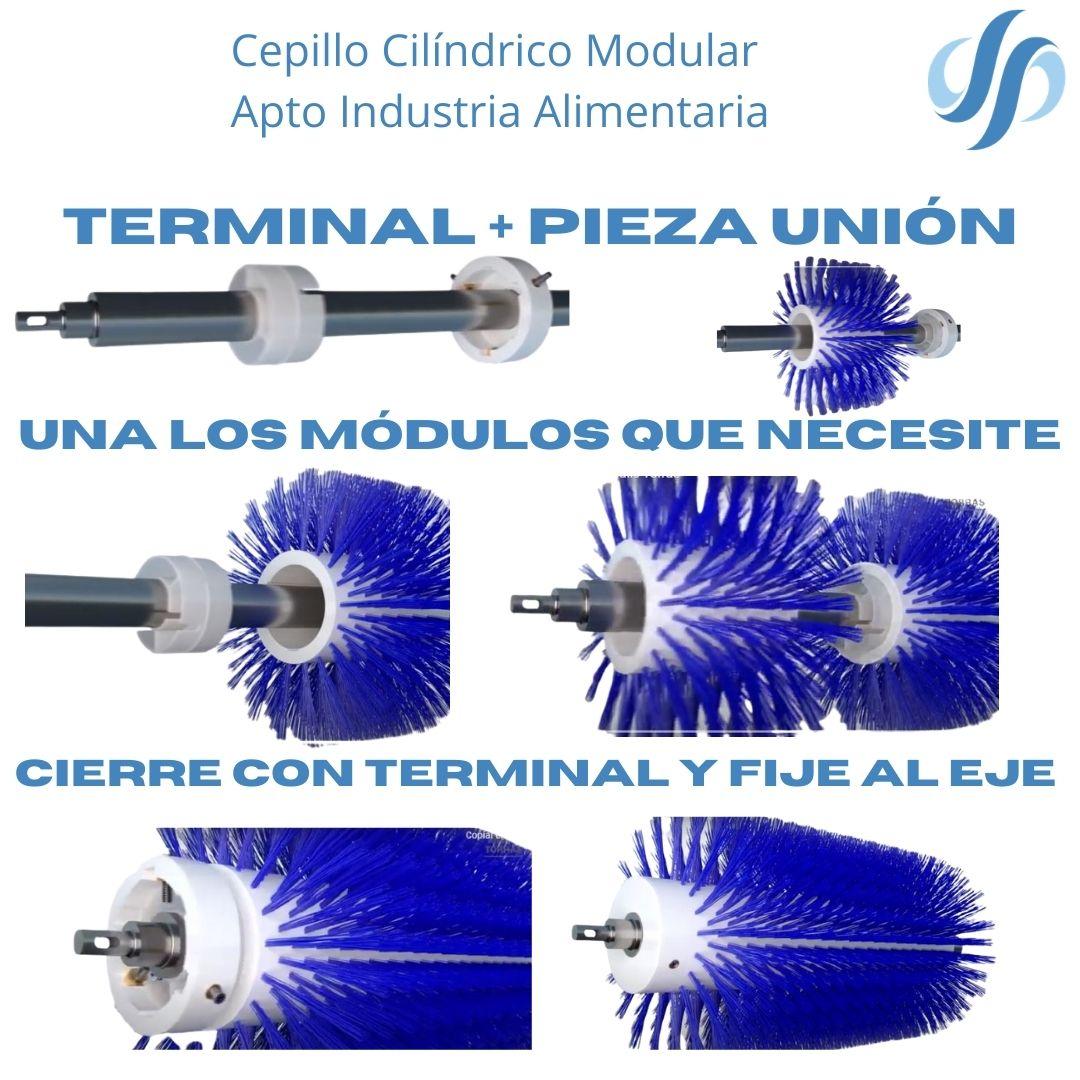 Cepillo Cilindrico Modular multieje
