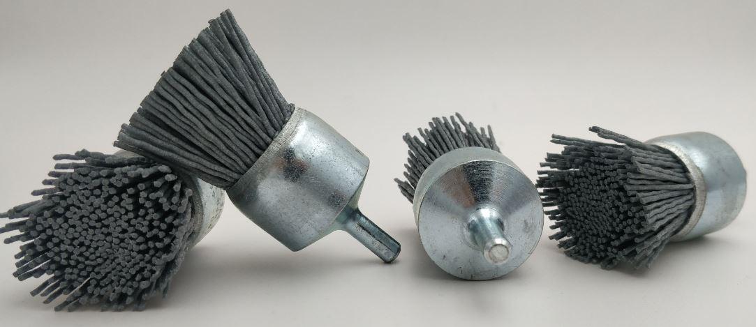 cepillo brocha nylon abrasivo