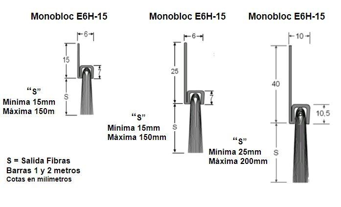 medidas cepillos strip monobloc a medida